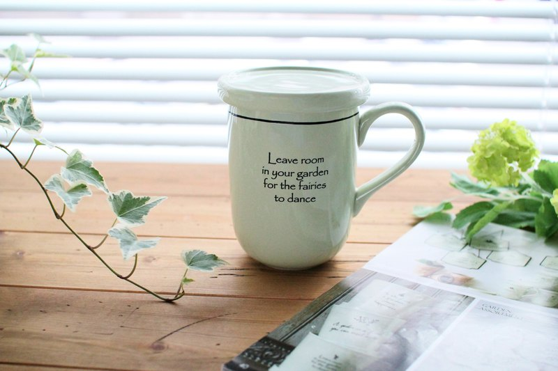 Christmas Exchange Gifts US Import Message Mug - Garden Series Feather Mugs