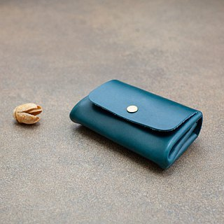 Be Two | Genuine leather double multi-functional wallet / business card holder
