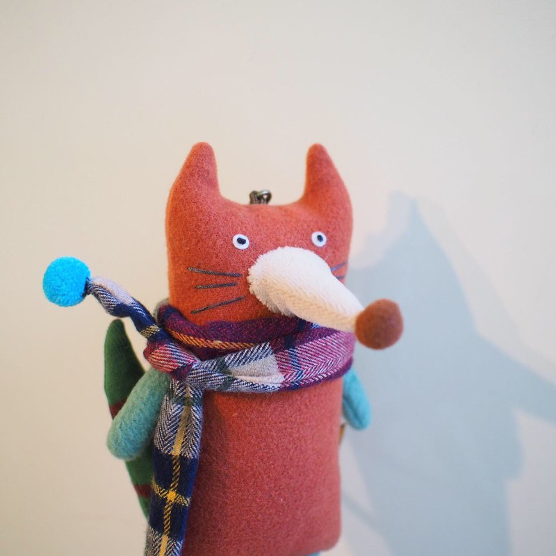E*group A fox fox handmade doll