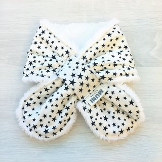 Warm Scarf (white star)