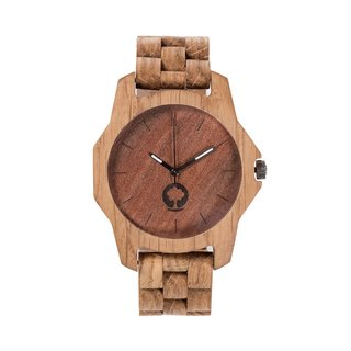 Plantwear – SIERRA SERIES – OAK WOOD TIMBER WRIST WATCH