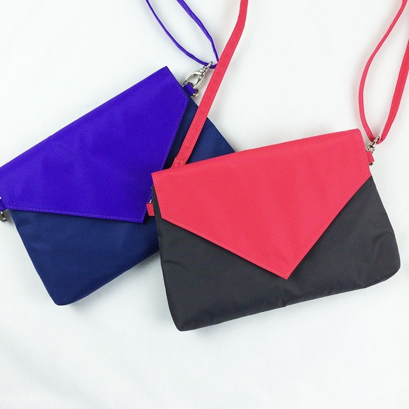 [Double-color envelope bag] - Full range of clutches / cross-body bags / side bags / pockets / Mother's Day preferred