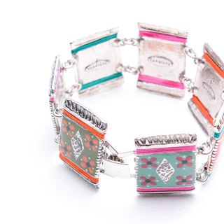 【French TARATATA】 Gypsy Series cold enamel bracelet