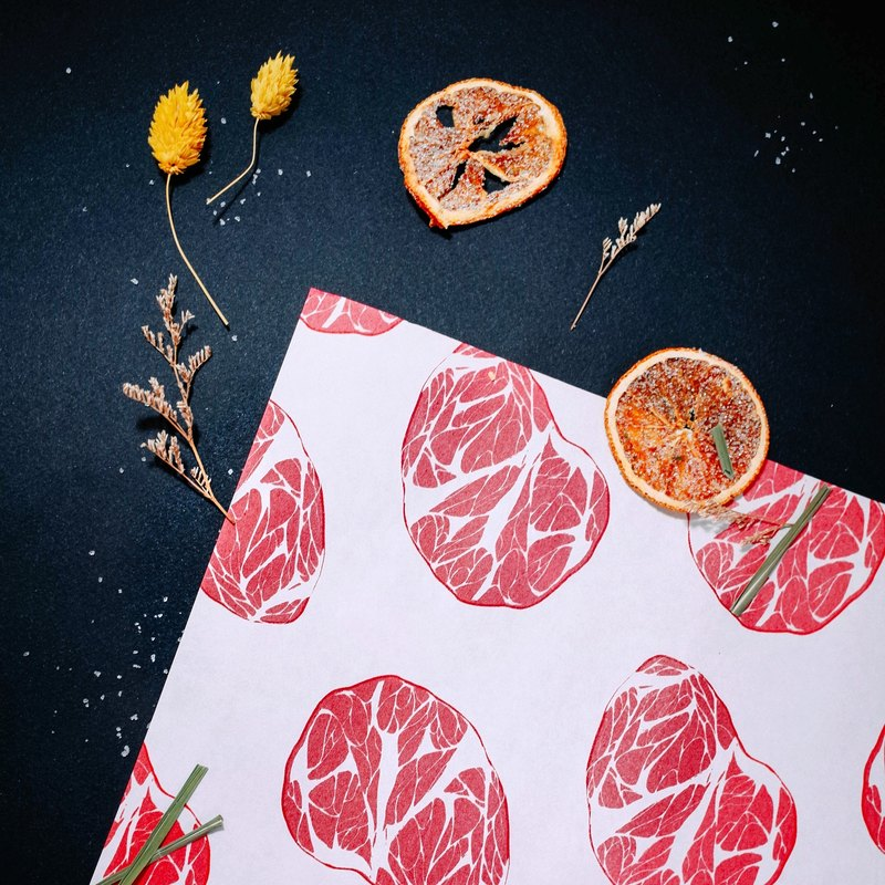 [Paradise meat] multi-purpose decorative wrapping paper