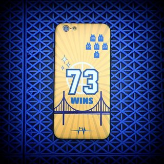 "Flame ""73Wins"" Phone Case"