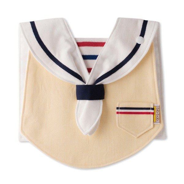bib-bab MARIN BIB  yellow white collar