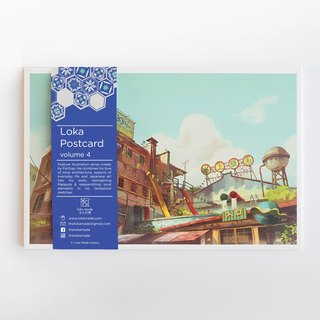 Fantascene Postcard Set By FeiGiap :Vol.4 (set of 8)