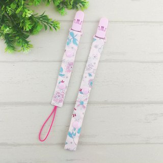 Pastel girl style. 2-stage length manual pacifier chain (for vanilla nipples)