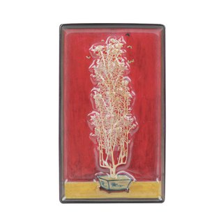 Chang Yu - Picture Frame Magnet - Chrysanthemum