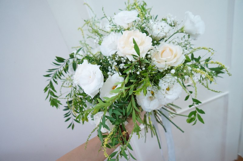 Amor Floral - Forest Elf Bridal Bouquet / Bouquet Flowers (Gift with the groom's boutonniere)