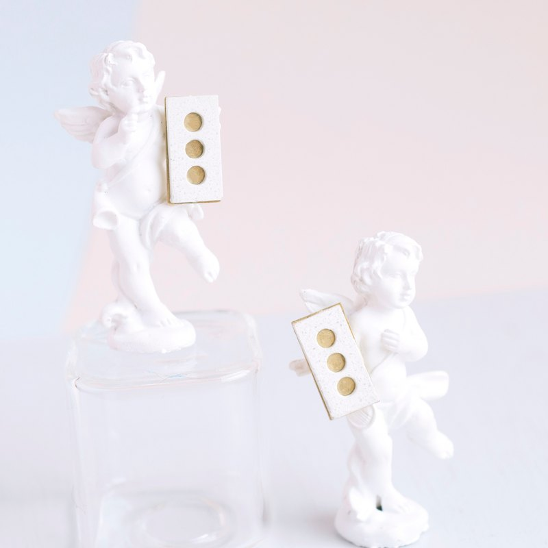 The Little Prince Literature inspired Earrings - Sheep in Box