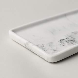Marble。Tray。Rectangle