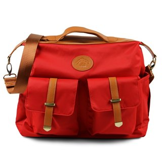 [Kiss] package - the classic red / mother bag / oblique backpack / shoulder bag / Backpack / Mother's Day Preferred