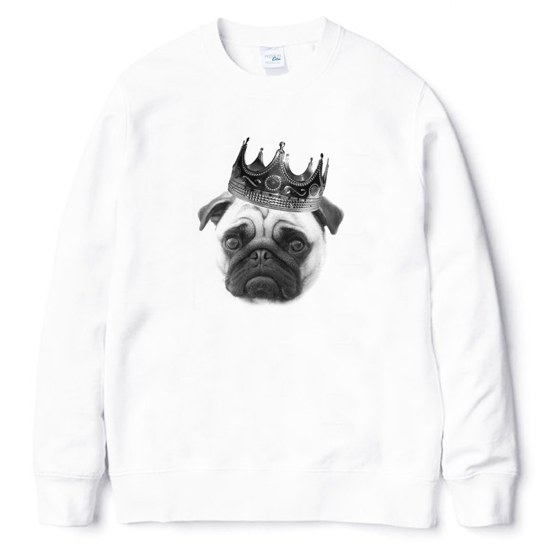 Notorious PUG (spot) University T neutral bristle white pug dog fighter dog animal American cotton