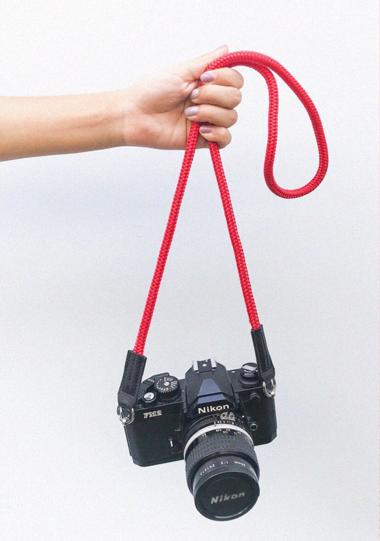 Troopers Camera Strap Red