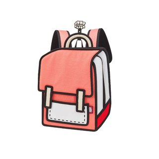 JumpFromPaper Watermelon Red Junior Spaceman Backpack