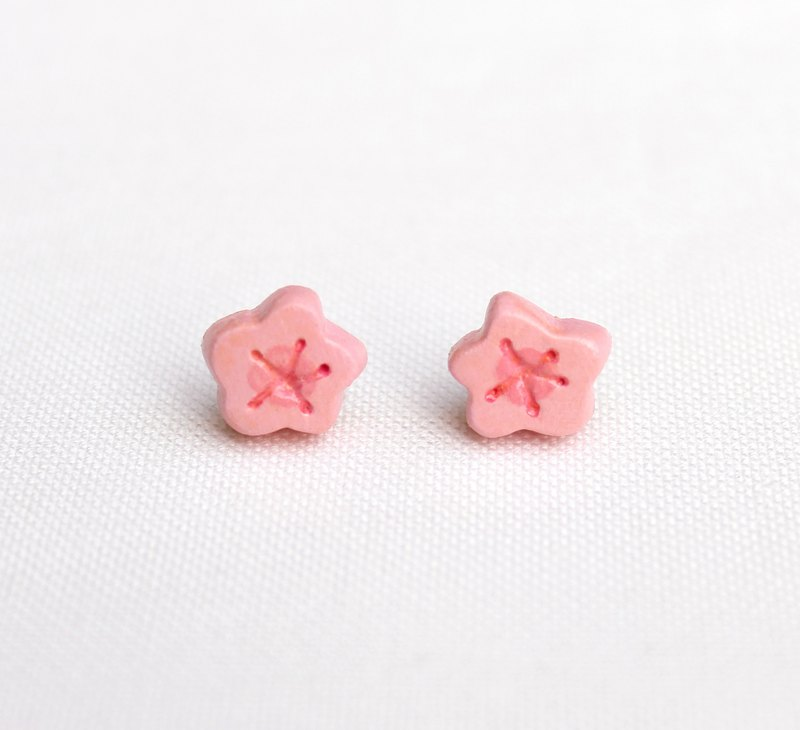 Handmade Cherry blossoms  earrings