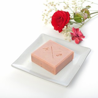 Rose Moisturizing Soap - Natural Cold Moisturizing Neutral and Dry Skin Balance