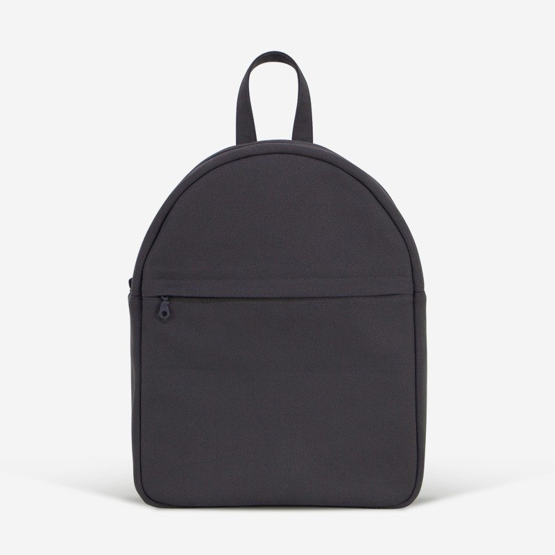 Large Minimal Simple Backpack in Canvas/Up to 13inch Laptop/Unisex/In 4 colors