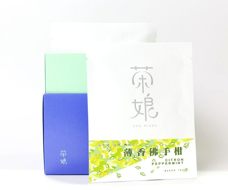 Scented Bergamot | Anxiety Relief | Bergamot & Peppermint + Roasted Tea | Natural Additives | New Herbal Tea | 3 Packets into Tea Tree Chaniang