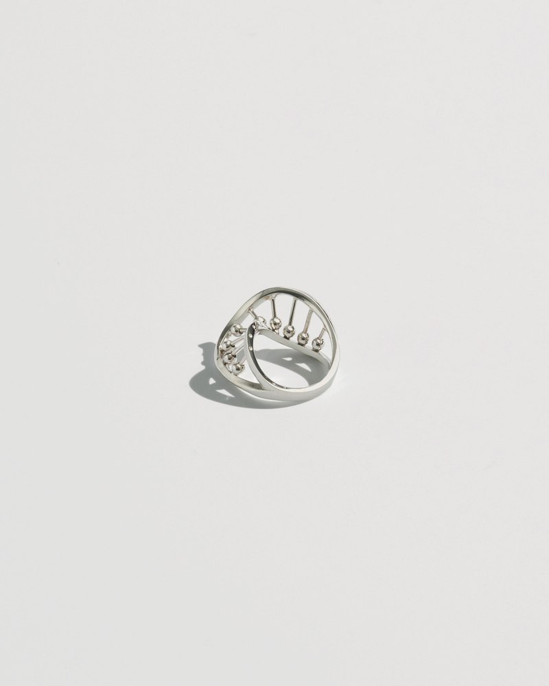 Transformed DNA Ring (Silver)