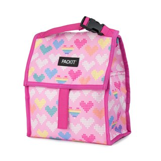 United States [PACKiT] ice cool multi-function refrigerated bag (Pink Paradise) cold bag / breast milk bag