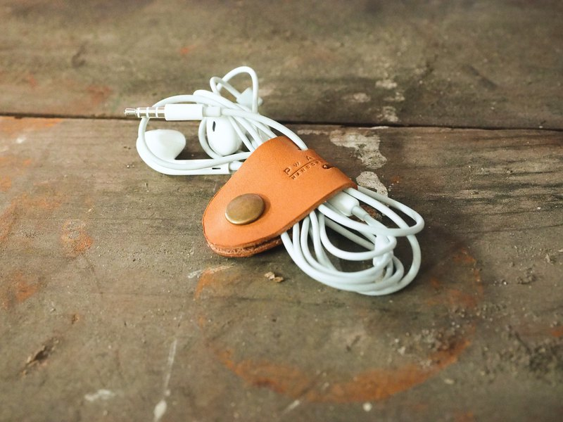 Leather Earphone Clip