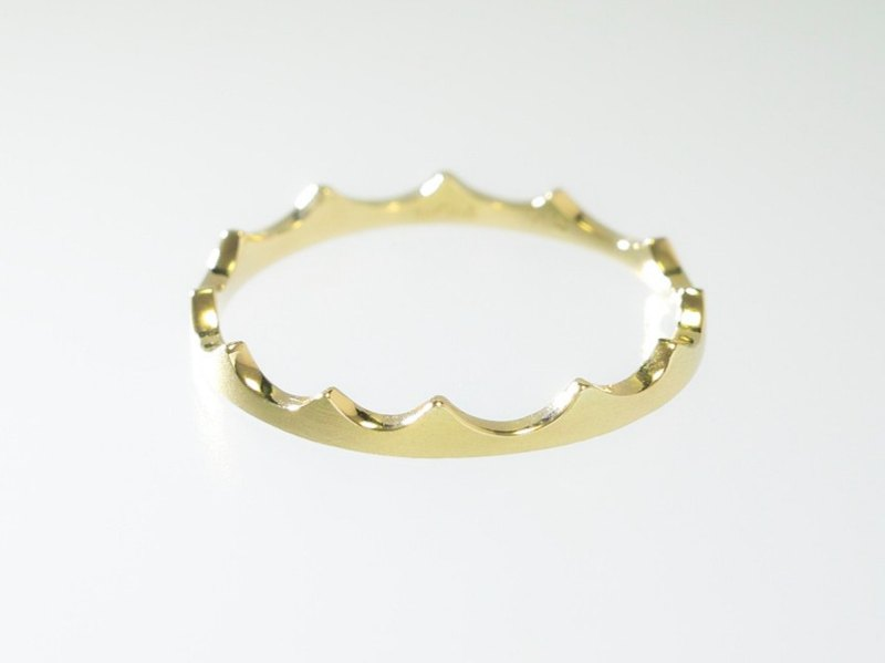 Japan Quality | inGod Stacking Ring Nami 14KYG