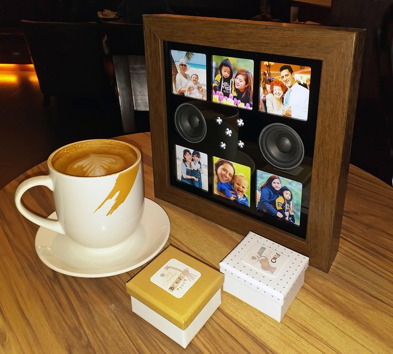 Music Photo Frame-Bluetooth Speaker-personalized gifts-mother-graduation