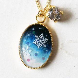 * Snowy dawn necklace *