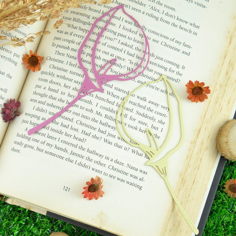 Calla Lily Bookmark