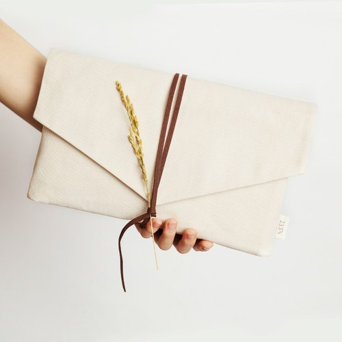 [Limited] multi-functional canvas bag envelope