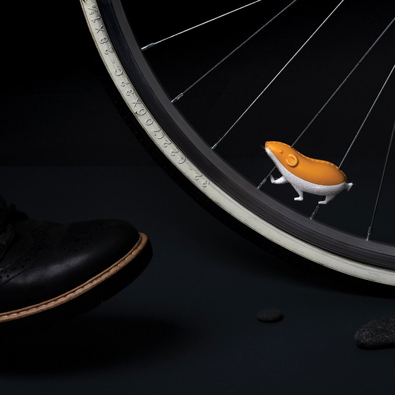[New] OTOTO Flash Mouse Bicycle Reflector