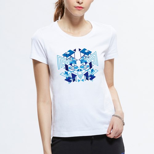 SEVEN CRASH Tide brand new products: summer new female casual short-sleeved T-shirt printing
