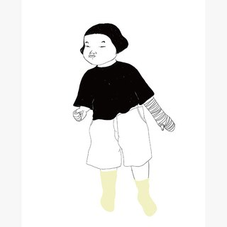 Ideal Kids Series Handmade Silk Screen Printing Copy No.8 | SAKOSTUDIO