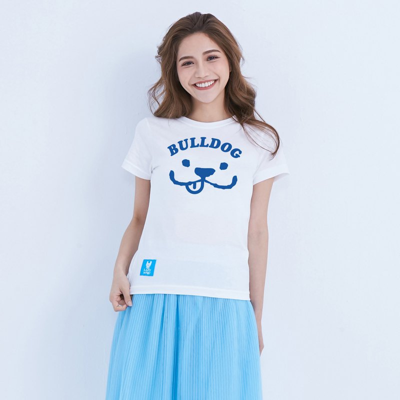 LM001578-MARU smile spring limited edition T-shirt (white)