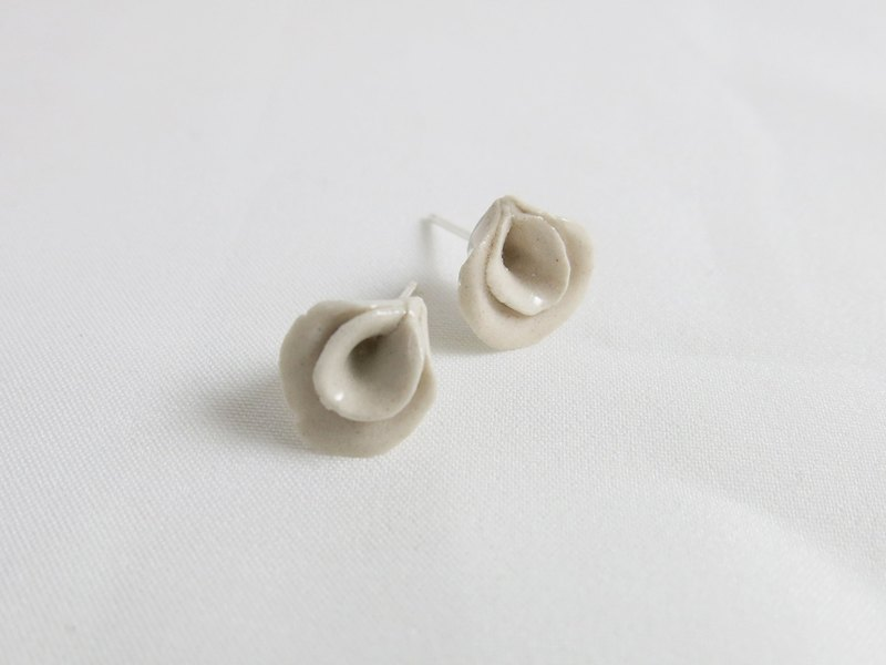 La môme ceramic earrings