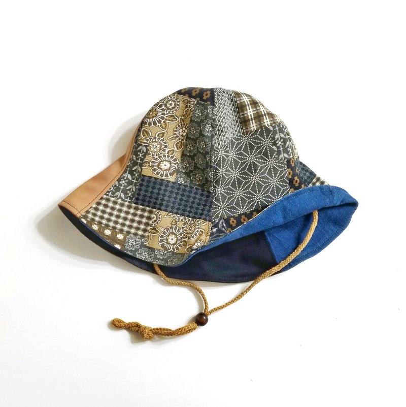 Hand-made double-sided design hat