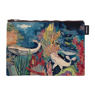 │Silent resonance Silent resonance Artist Series│ Synthetic canvas zipper bag