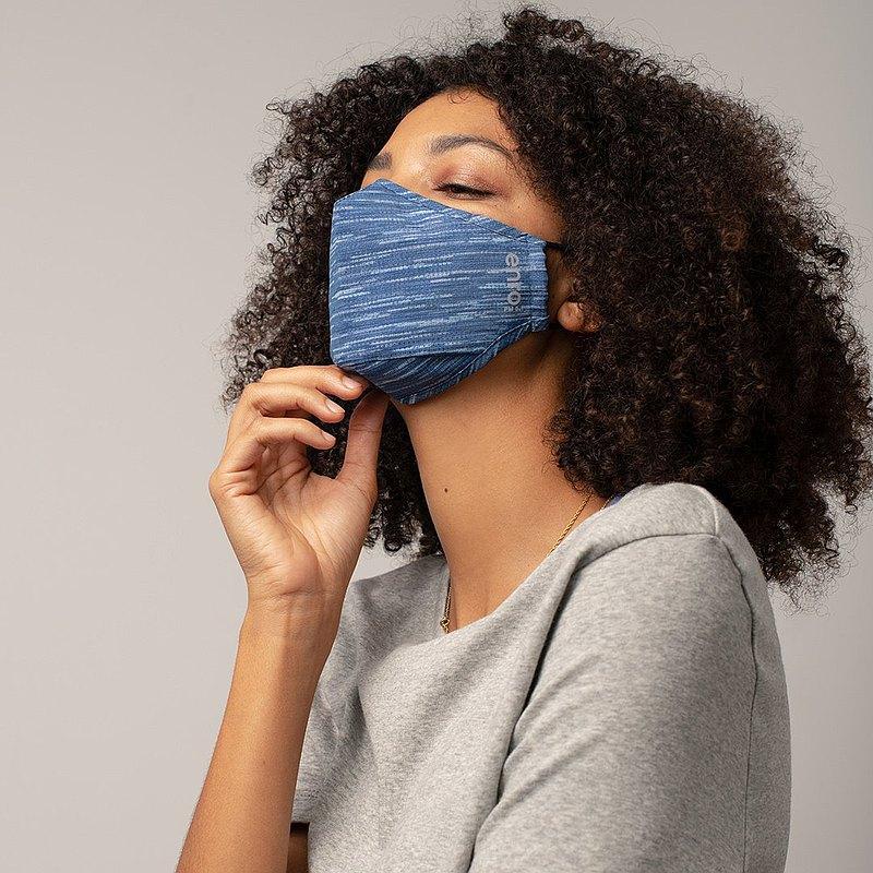 【日常推薦 | 好動】藍 可重用口罩 100洗 | 高效防護