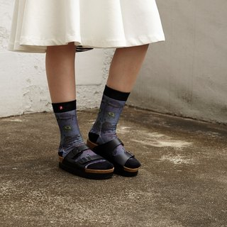 Hong Kong Design | Fool's Day stamp socks -ET Mix 00063