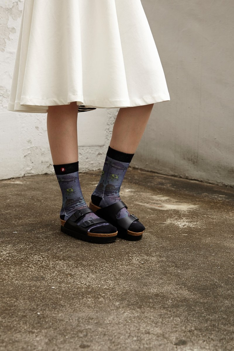Hong Kong Design | Fools Day Printed Socks - ET Mix 00063