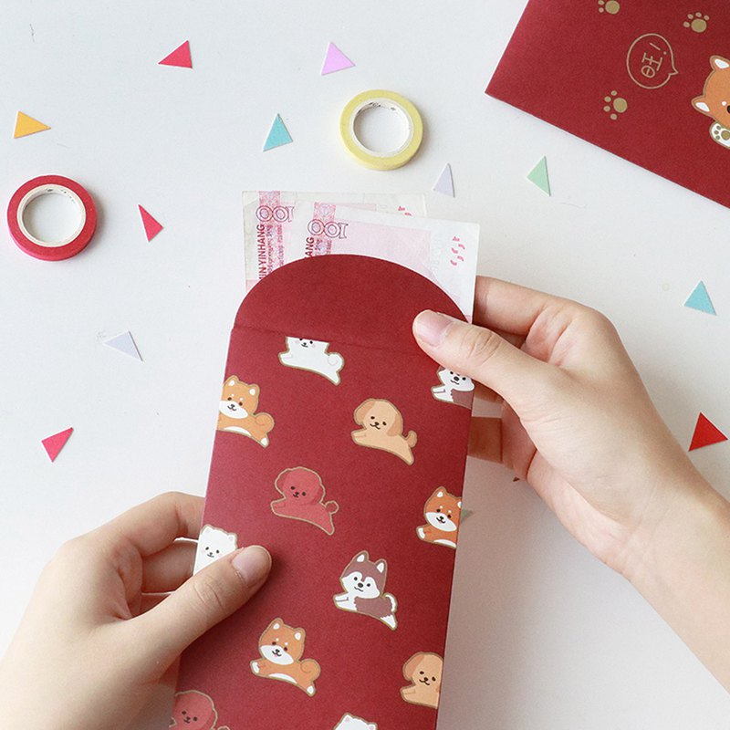 Letter of lovers married New Year birthday red envelope size universal red envelope vibrato creative personality is a package