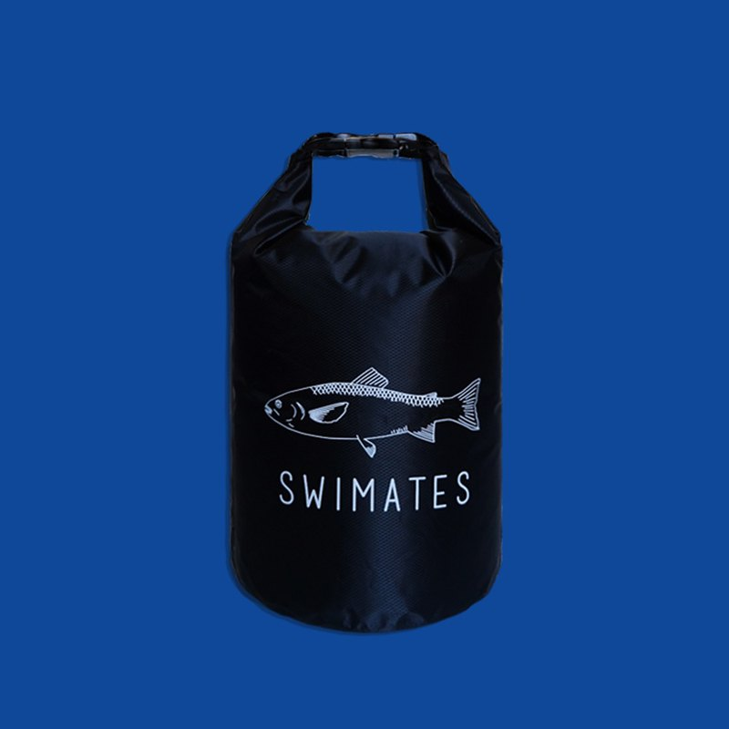 Black 10L Waterproof Soft Drybag