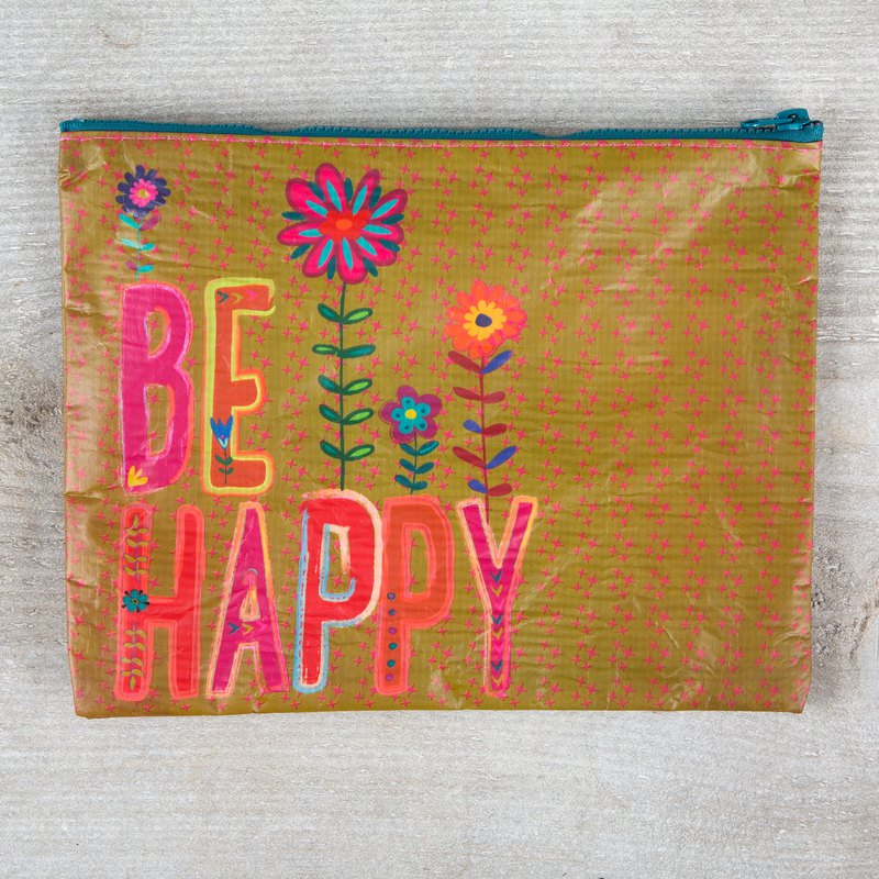 Environmentally friendly material storage bag - Be Happy