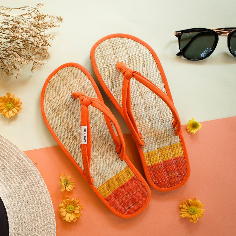 Holiday Rush Sandal - Pagoda Religion Orange