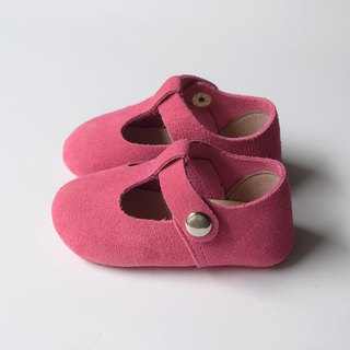 Hot Pink Baby Girl Shoes, Baby Moccasins, Baby Booties, Infant Crib Shoes