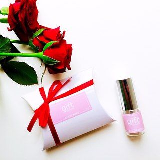 Is perfume is Eau de Toilette. Surprise gift box 10ml