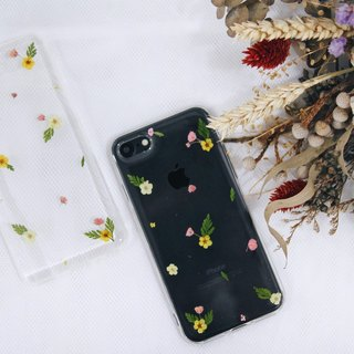 流星雨 • Handpressed Dried Flower Phone Cases
