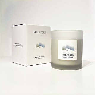 Swedish Design 200g Norrsken Soy Wax Candle - Tree Note